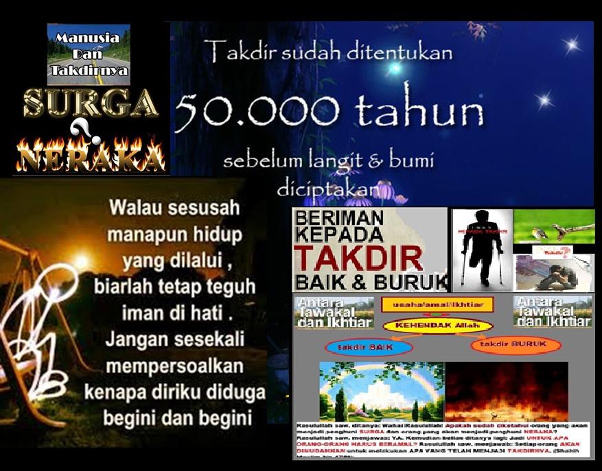 50000 tahun takdir