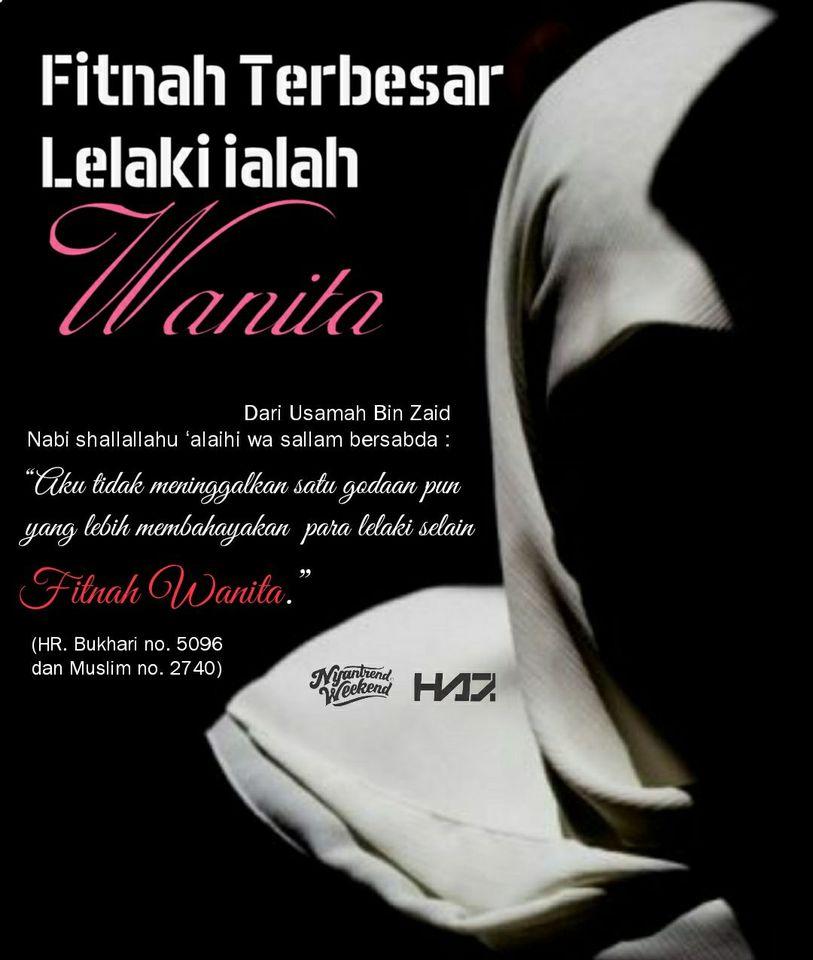 wanita fitnah jilbab