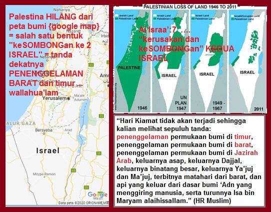 palestina hilang